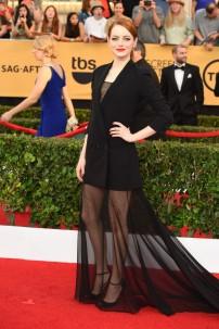 21st Screen Actors Guild Awards, Arrivals, Los Angeles, America - 25 Jan 2015
