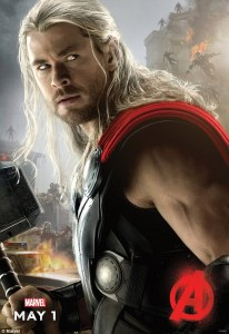 avengers: age of ultron chris hemsworth 2015 girlaboutfilm.com