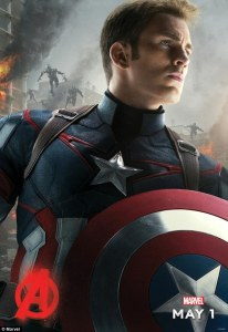 avengers: age of ultron chris evans 2015 girlaboutfilm.com