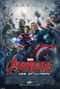 avengers: age of ultron poster 2015 girlaboutfilm.com