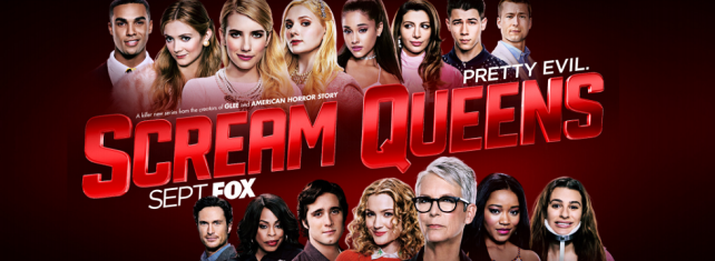 scream queens promotional poster banner