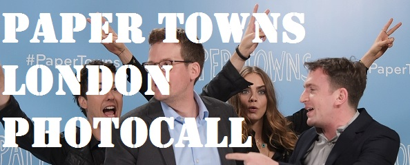 paper towns london photocall get caras look - caras outfit