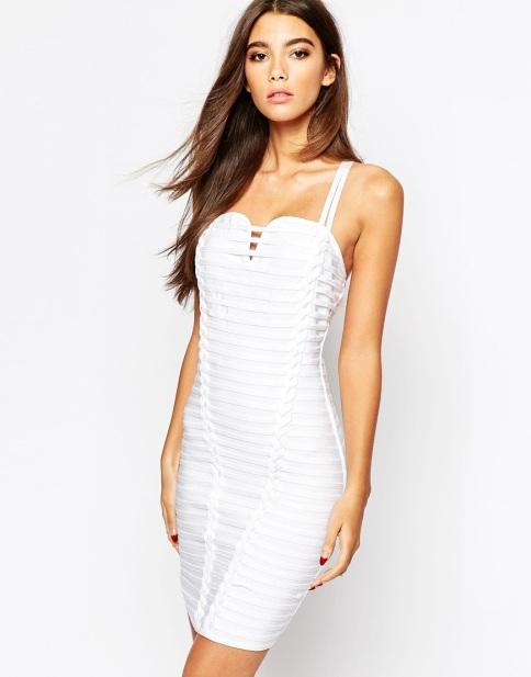 asos white bandage dress abigail breslin