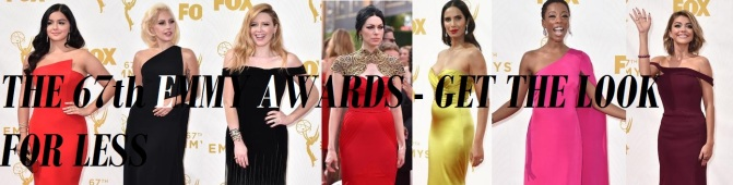 the emmy awards fashion get the look