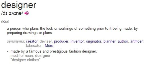 designer definition
