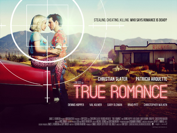 true romance poster film trailer